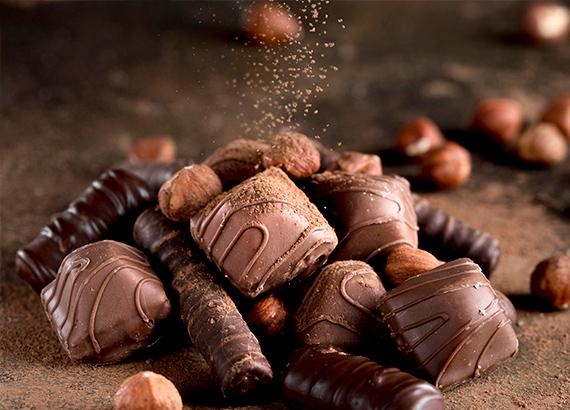 Chocolates e Confeitos